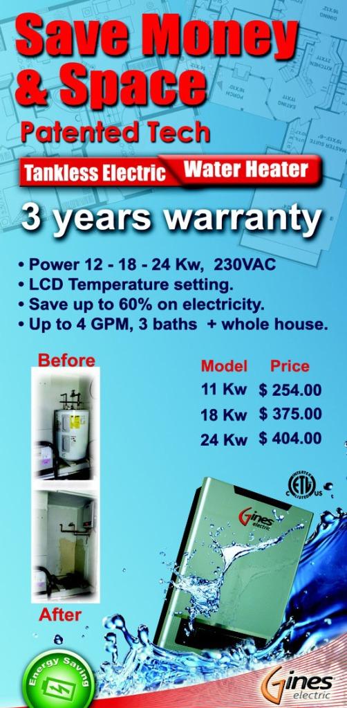 Calentadores a Gas y Electricos